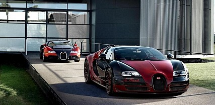 Official Images Of The Bugatti Veyron Grand Sport Vitesse La Finale