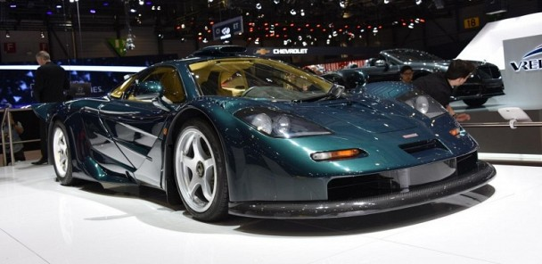 Old School McLaren F1 GT Graces Geneva