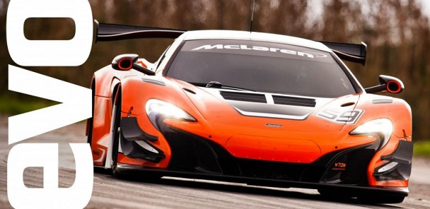 McLaren 650S GT3 on board footage | evo TCOTY