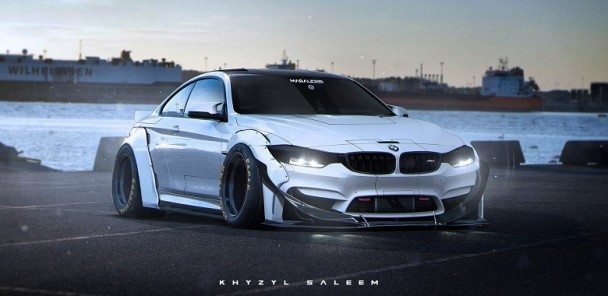 BMW M4 'Marauder' Concept Brings A New Meaning to Wide