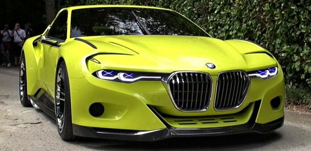 BMW 3.0 CSL Hommage on Display