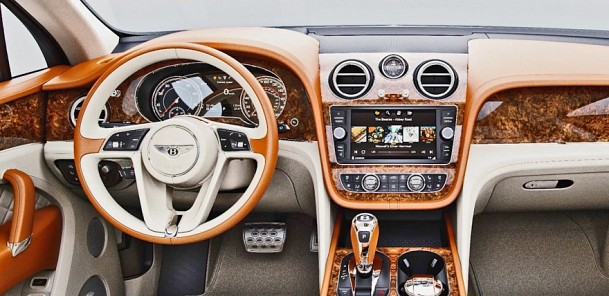 2016 Bentley Bentayga - Tailoring and Personalisation