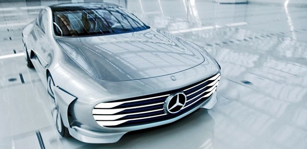 Mercedes-Benz Concept IAA - Driving (Intelligent Aerodynamic Automobile)