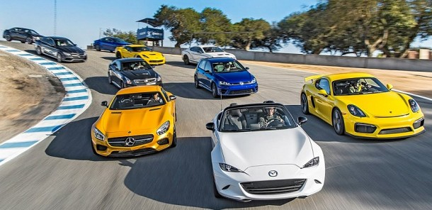 Motor Trend Picking the 2015 Best Driver's Car!