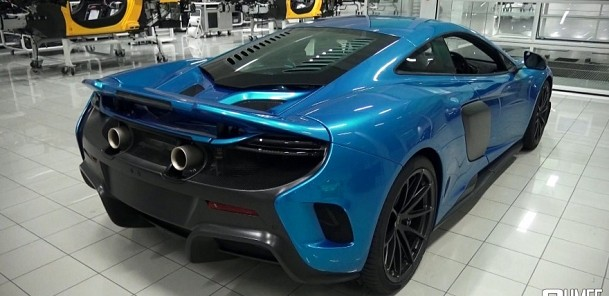 New McLaren 675LT in the Factory