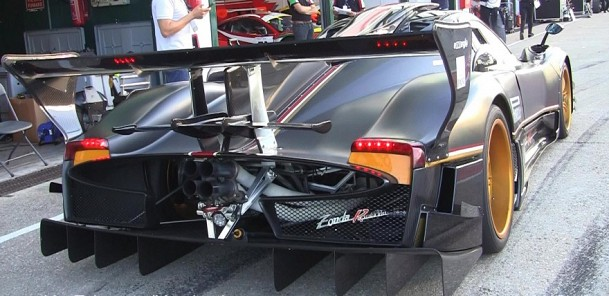 Pagani Zonda Revolucion with its Demonic Sound!