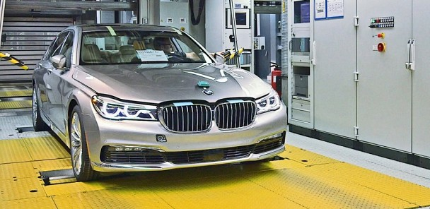 See the 2016 BMW 7 Series Production Line