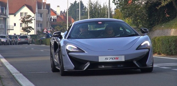 2016 McLaren 570S on the Road!