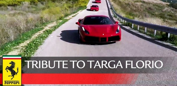 Ferrari Tribute to Targa Florio 2015