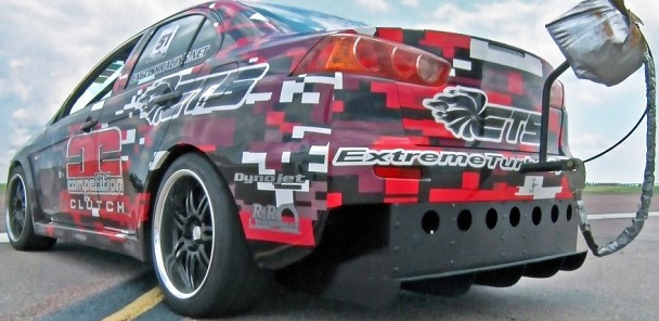 1000hp EVO X Goes 198MPH at Shift Sector!