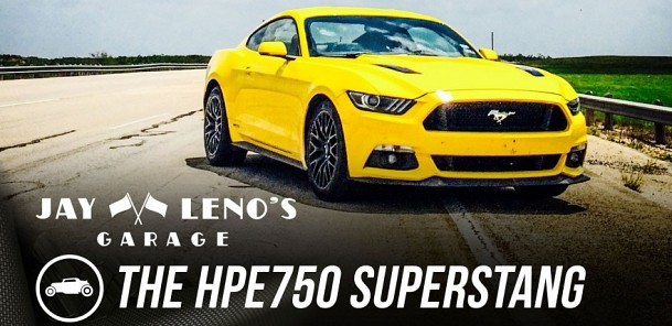 The HPE750 SuperStang - Jay Leno's Garage
