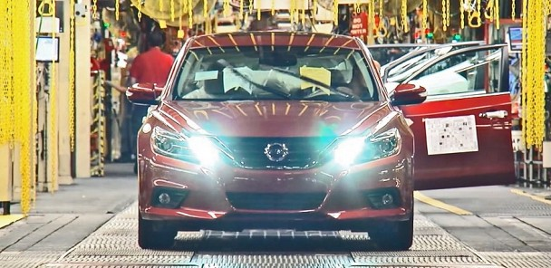 Check out the 2016 Nissan Maxima be Born at their Assembly Plant