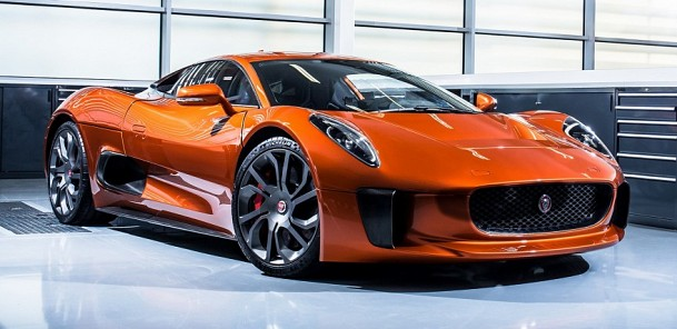 Jaguar C-X75 & Co: Taking on James Bond's DB10 In Spectre