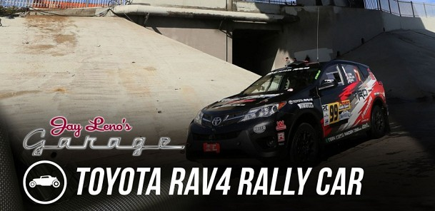 2015 Toyota RAV4 Rally Car - Jay Leno's Garage