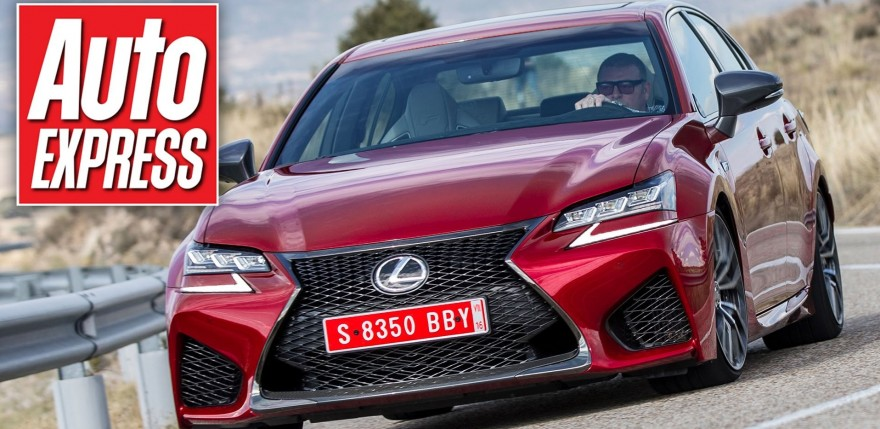New Lexus GS F Review