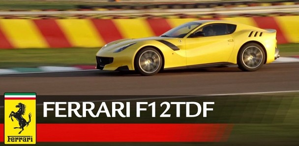 Ferrari F12tdf Official Debut