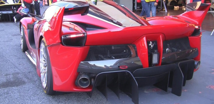Ferrari FXXK INSANE Exhaust Sound to the 14th Power