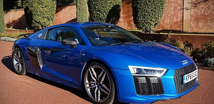 First Drive in the New Audi R8 V10 Plus