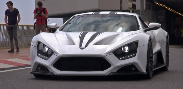 $1.8 Million Zenvo ST1 on the road in Monaco!