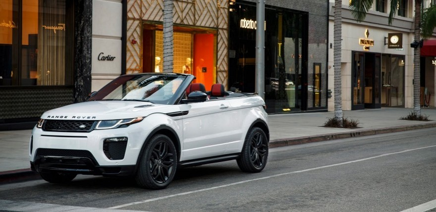 2016 Range Rover Evoque Convertible First Look - 2015 L.A. Auto Show