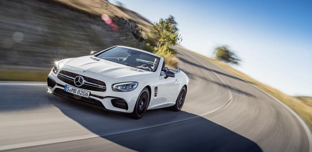 2017 Mercedes-Benz SL550 and SL63 - 2015 L.A. Auto Show