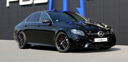 Mercedes-AMG E63 S Tuned to 880hp by Posaidon
