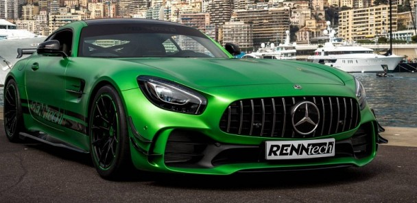 RENNtech Creates a 825hp Mercedes-AMG GT R Monster