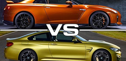 Nissan GT-R or BMW M4?