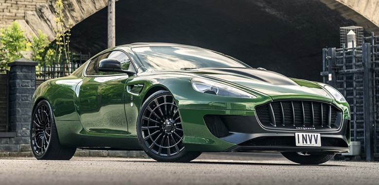 Tuned Aston Martin Vanquish Takes Inspiration From the Hulk